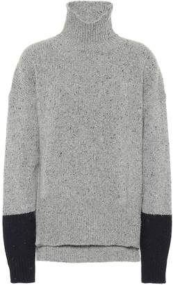 ALEXACHUNG Wool-blend turtleneck sweater