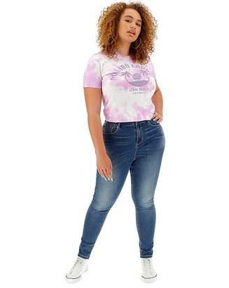Chloé Simply Be Blue High Waist Skinny Jeans