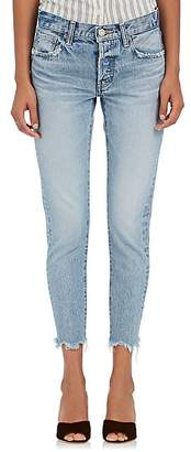 Moussy Women's Loa Tapered Jeans - Lt. Blue