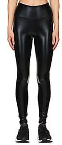 Electric Yoga WOMEN'S WIDOW COATED LEGGINGS-BLACK SIZE M