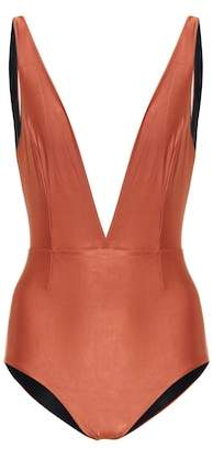 Haight Fernanda metallic swimsuit