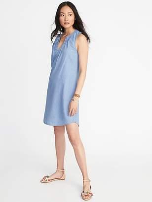 Old Navy Sleeveless V-Neck Shift Dress for Women