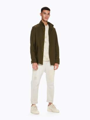 Scotch & Soda Shirt Jacket In Parka Style