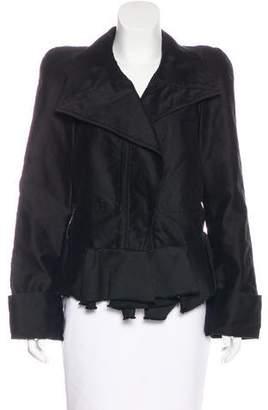 Isabel Marant Peak-Lapel Button-Up Jacket