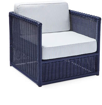 Serena & Lily Pacifica Chair - Navy