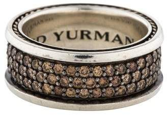 David Yurman Diamond Streamline Three-Row Band