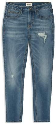 Hudson Boys' Distressed Slim-Fit Jeans - Big Kid