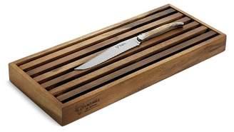 Laguiole en Aubrac Olivewood Bread Knife & Board