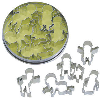 R & M International Corp. 5 Piece Baby Cookie Cutter in Tin