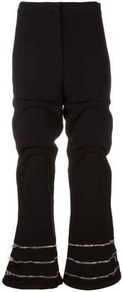 J.W.Anderson zip detail gathered trousers