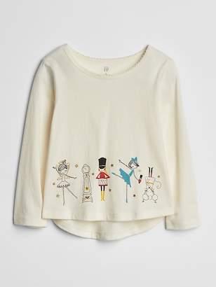 Gap 3D Sparkle Graphic T-Shirt