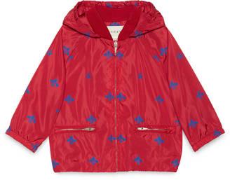 Baby bees stars nylon jacket $660 thestylecure.com