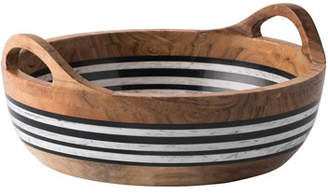 Juliska Stonewood Stripe Round Serving Bowl