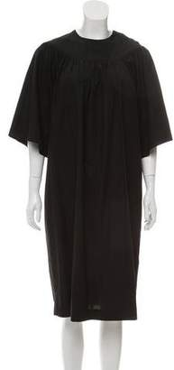 Celine Pleated Tent Dress