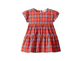 Burberry Alima Check Dress (Infant/Toddler)