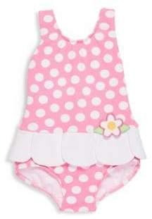 Florence Eiseman Baby's, Toddler's& Little Girl's Polka Dots Skirted Tank Swimsuit