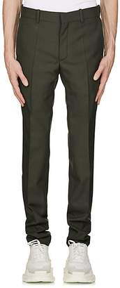 Balenciaga Men's Virgin Wool-Blend Twill Slim Trousers