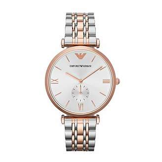 Emporio Armani Women's Quartz Stainless-Steel-Plated Watch