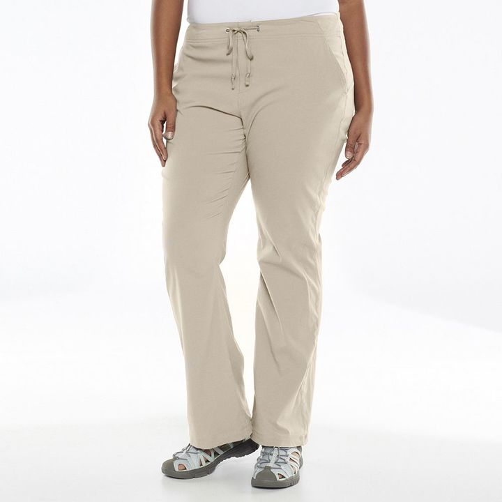 Columbia Plus Size Columbia Anytime Outdoor Bootcut Pants