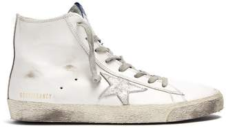 Golden Goose Francy high-top leather trainers