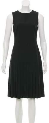 Theory Knee-Length Wool Dress