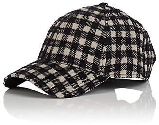 Barneys New York New Era XO Men's Plaid Virgin Wool-Blend Baseball Cap