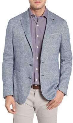 Peter Millar COLLECTION Santorini Regular Fit Chambray Knit Sport Coat