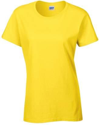 Gildan Ladies/Womens Heavy Cotton Missy Fit Short Sleeve T-Shirt (XL)