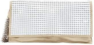 Jean Paul Gaultier White Metal Clutch Bag