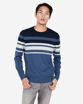 Blue White Striped Sweater Men Shopstyle Canada