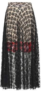 Christopher Kane Lace midi skirt