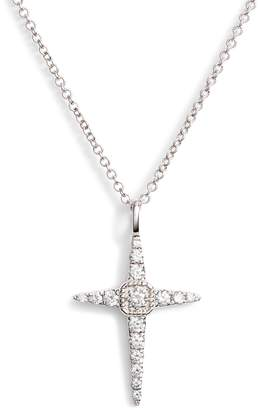 Bony Levy Diamond Cross Pendant Necklace