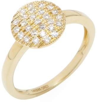 Ralph Lauren Dana Rebecca Women's Joy 14K Yellow Gold & 0.16 Total Ct. Diamond Medium Ring