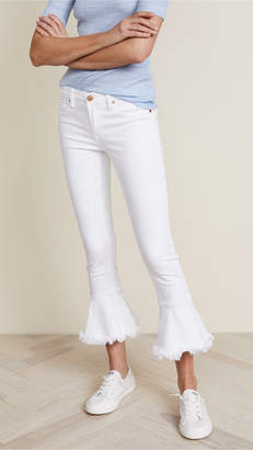 Blank Trumpet Flare Jeans