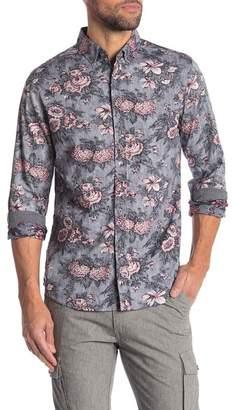 Heritage Floral Print Slim Fit Shirt