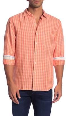 Tommy Bahama Sand Plaid Print Shirt