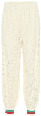 Gucci Lace track pants