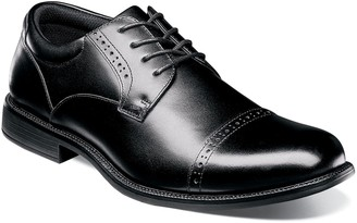 Nunn Bush Nantucket Men's Waterproof Cap Toe Dress Shoes
