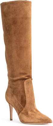 Gianvito Rossi Light brown suede boots