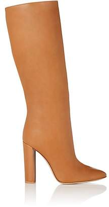 Gianvito Rossi Women's Leather Knee Boots - Almond