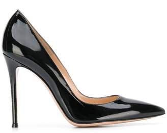 Gianvito Rossi pointed court shoes