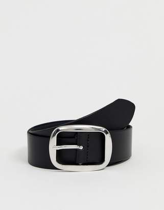 Asos DESIGN leather jeans belt