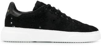 By Walid two tone low top sneakers