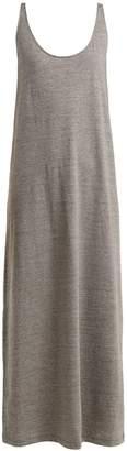 Raey Skinny-strap cotton-jersey dress