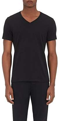 Barneys New York MEN'S JERSEY V-NECK T-SHIRT