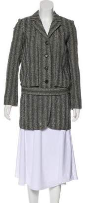 Marc Jacobs Virgin Wool-Blend Short Coat