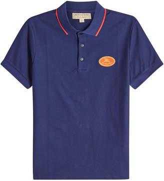 Burberry Shalowe Cotton Polo Shirt