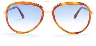 Tom Ford Women's Andy 58mm Aviator Sunglasses