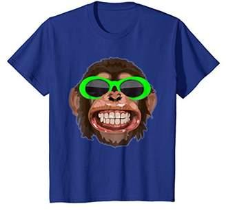 Clout Goggles Chimp Shirt: Funny Chimp Clout EDM T-shirt