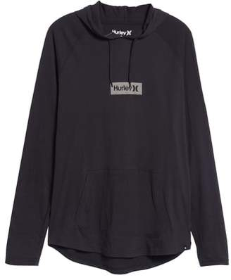 Hurley Premium One and Only Box Logo Pullover Hoodie